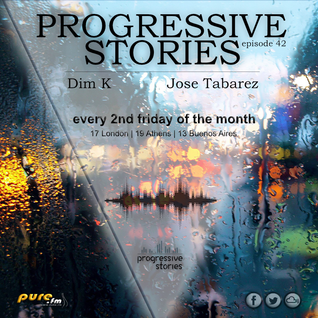Jose Tabarez - Progressive Stories 042 [July 08 2016] on Pure.Fm