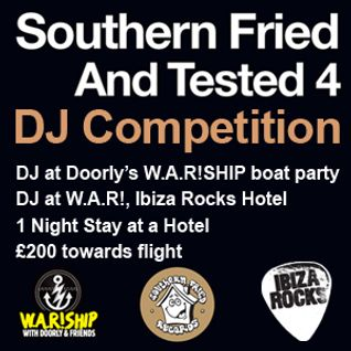 Southern Fried Tested 4 W.A.R! DJ competition by Mally