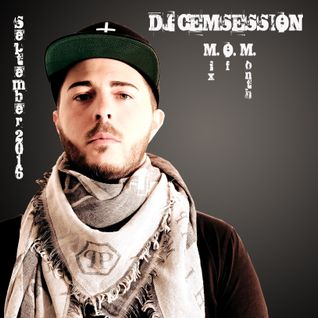 DJ CEMSESSION Mix Of Month September 2016