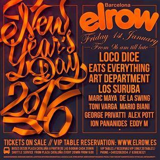 Los Suruba - live at El Row (Barcelona) - 01-Jan-2016