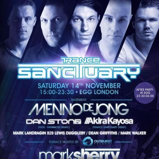Menno de Jong - Live @ Trance Sanctuary (London) - 14.11.2015