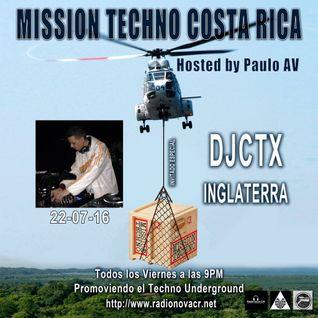 MISSION TECHNO COSTA RICA [Djctx Mix Edition]