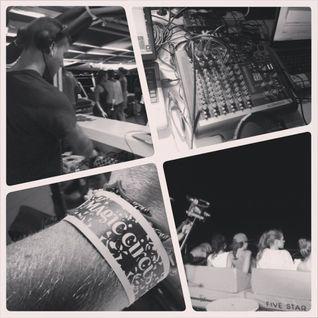JAIRO NUÑEZ / Live on the Magic Circus 5 Star Catamaran / 11.08.2013 / Ibiza Sonica