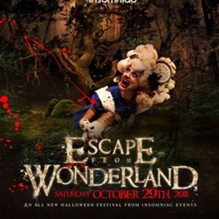 Dash Berlin - Live @ Escape from Wonderland (San Bernardino CA) - 29.10.2011