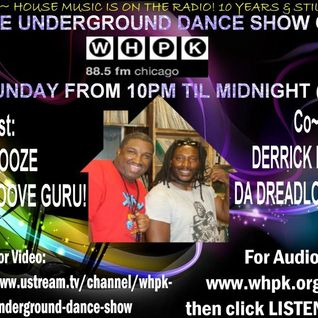 1.27.2013 Underground Dance Show By Dj Snooze & Derrick Thompson with gest With DEE Jay Shellz