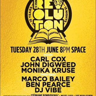 2016 08 01 Transitions #622 Part 1 - John Digweed Live at Space, Ibiza 28.06.2016