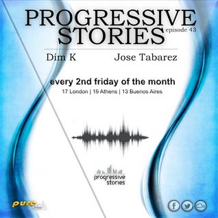 Jose Tabarez - Progressive Stories 043 [Aug 12 2016] on Pure.Fm