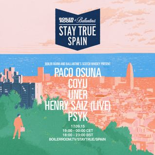 Henry Saiz – live at Boiler Room Stay True Spain 17/09/2015