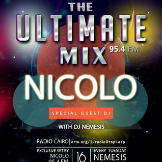 Nemesis - The Ultimate Mix Radio Show (056) 16/02/2016 (Guest Nicolo)