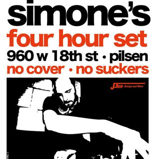 DJ Form @ Simone's, Chicago, 10/19/12