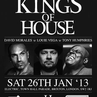 David Morales & Louie Vega & Tony Humphries @ Electric Brixton, London (26-01-2013) (Part 1)