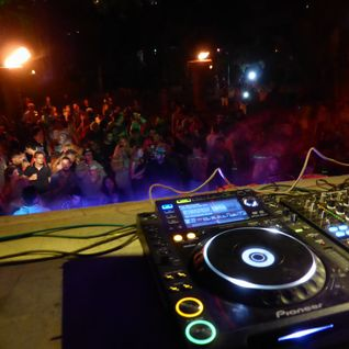 dj rob jay , palolem , south goa , india - 21-2-15