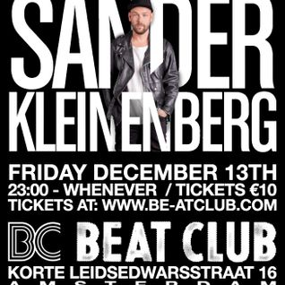 Sander Kleinenberg - Live at Beat Club, Amsterdam (13-12-2013)