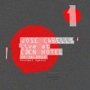 Jose Cabello (Live) @ Eden Hotel (Partai) 22082015