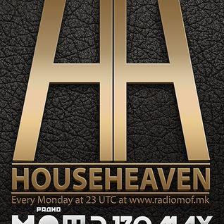 DJ ZOMAX - House Heaven episode 86 (www.radiomof.mk)
