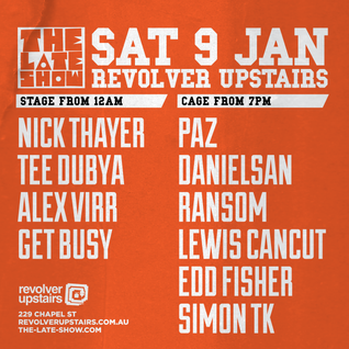 The Late Show @ Revolver Upstairs 090116 LIVE