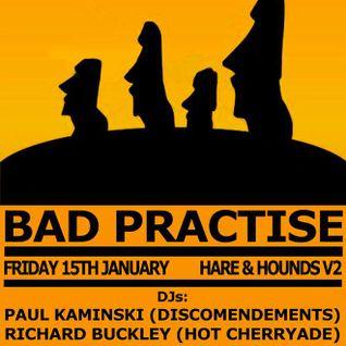 Bad Practice #1
