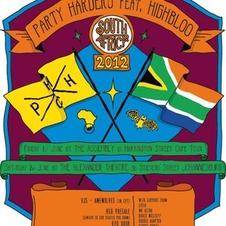 Party Harders Mix - South Africa Tour 2012