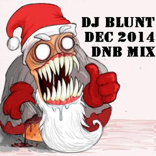 Dj Blunt December 2014 DnB Mix