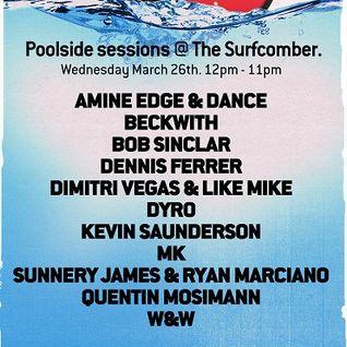 MK - Live @ Miami Music Week 2014 WMC, DJ Mag Poolside Sessions, Surfcomber - 26.03.2014