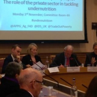 Good for business and poor people?  The role of the private sector in tackling undernutrition