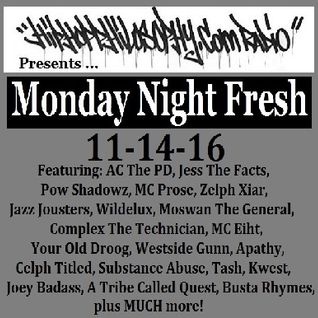 HipHopPhilosophy.com Radio - LIVE - 11-14-16 - with guests Pow Shadowz, MC Prose and Zelph Xiar