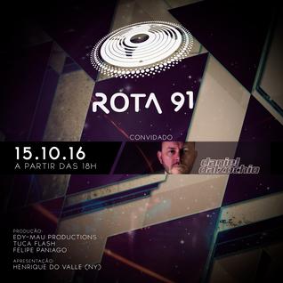 Rota 91 - 15/10/2016 - convidado - Daniel Dalzochio