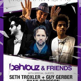 Guy Gerber (Supplement Facts) vs. Seth Troxler (Crosstown Rebels) @ W Hotel - Miami (19.03.2012)