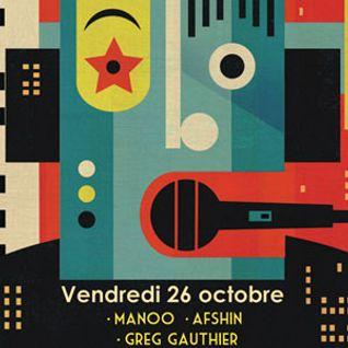 Manoo @ The Djoon Experience, Djoon, Friday October 26th 2012