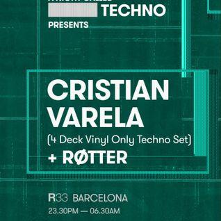 Cristian Varela - Live @ 4 Deck Vinyl Set, R33 Club (Barcelona, ES) - 06.08.2016