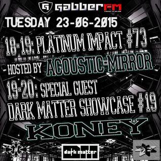 The Antemyst - Platinum Impact 73 (Gabber.fm) 23-06-2015