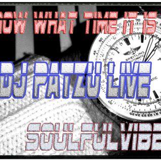 DJ PATZU live Soulfulvibe USA 2014-12-04