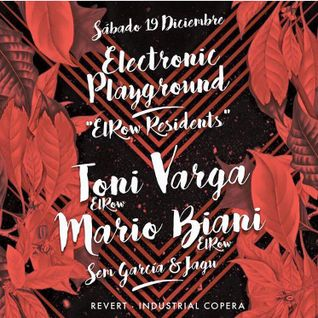 19/12/2015 El Row Residents - Industrial Copera @Sem Garcia