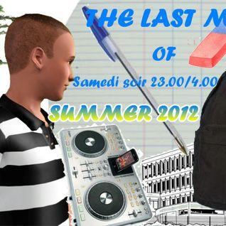 """J'lien Derulo 1 au 2 Septembre 2012 23h/4h """"The Last Mix Of Summer 2012"""""""