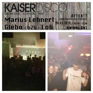 Kaiserdisco - Live @ After!? Kowalski Stuttgart (Germany) - 08.02.2015