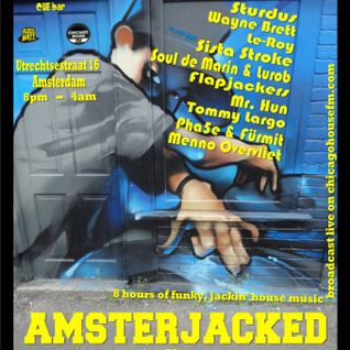 Tommy Largo Live @ Amsterjacked Vs Lofrequency ADE Oct 19 2012 Cue Bar Amsterdam