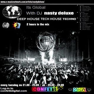 Dj Nasty deluxe - It's global - Confetti Digital - UK - London - 23. 06. 2015