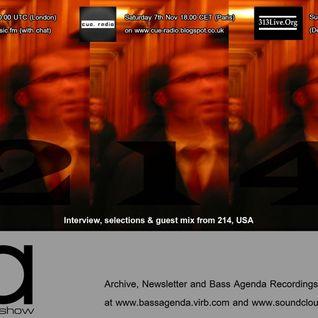 Bass Agenda 115: 214 Interview & Guest Mix