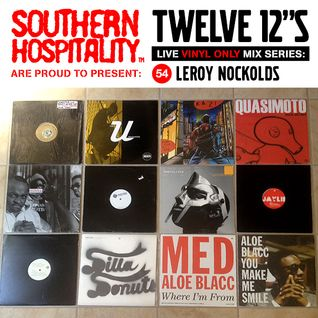 Twelve 12's Live Vinyl Mix: 54 - Leroy Nockolds - Stones Throw Special!