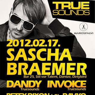 Sascha Braemer live at Prestige, Budapest 2012.02.17.