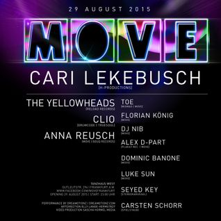 Dominic Banone @ MOVE OPENING 29.08.2015 (Tanzhaus West, Frankfurt)