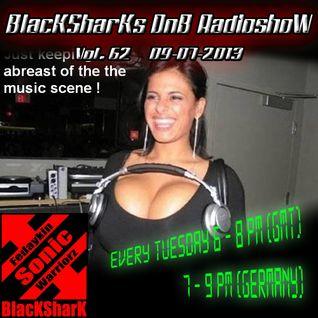 BlacKSharKs DnB Radioshow [www.dnbnoize.com] 2013-07-09 Vol. 62