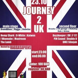 Maxtreem@Journey 2 UK - 23.10.15 (Live Jungle Set)