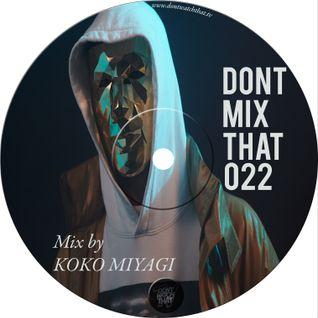 D.M.T Vol 22 Mixed by KOKO MIYAGI