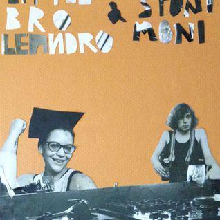 LittleBroLeandro & SisStoniMoni InToThe CityClubCafe -8-8-15
