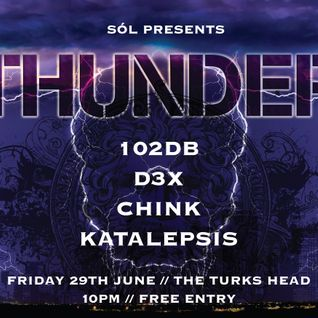 Katalepsis - Thunder (club night 29/6/12)