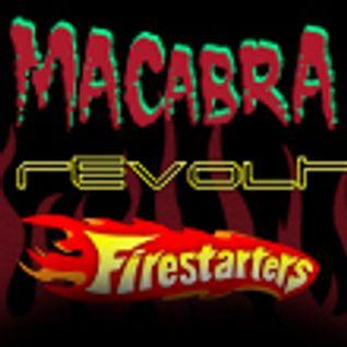 MIXTAPE DA FESTA REVOLT HITS + MACABRA + FIRESTARTERS na Casa da Matriz dia 13/4