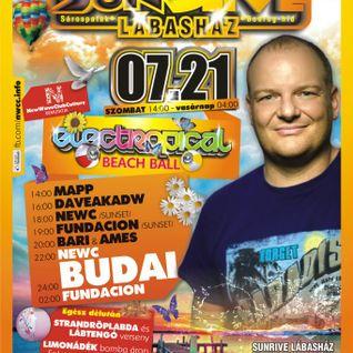 daveakadw live @ electropical beach ball sunrive, sarospatak 2012-07-21