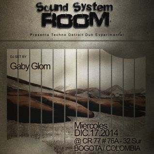 Broadcast # 3 Gaby Glom @ Soundsystem Room 17/12/2014