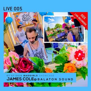 James Cole - live at BALATON SOUND 2016 (Akvarium Beach) - 06-Jul-2016